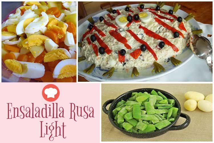 Dieta Herbalife Ensaladilla-Rusa-Light